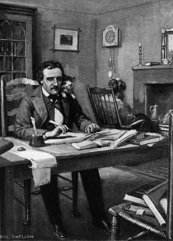 CATTARINA, LA GATTA DI Edgar Allan Poe