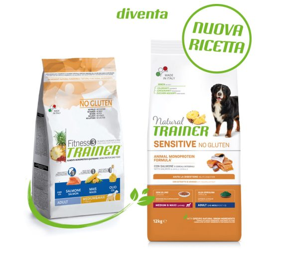 NATURAL TRAINER: NUOVO PACKAGING E NUOVE RICETTE